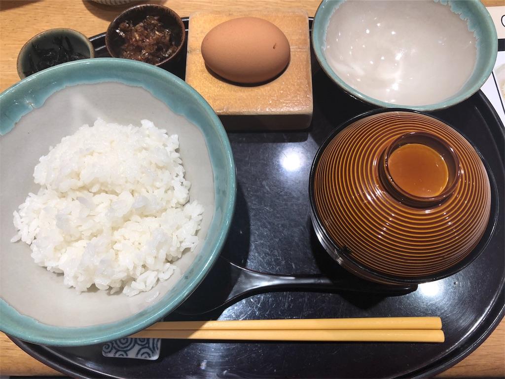 「赤坂うまや うちのたまご直売所」の卵かけご飯