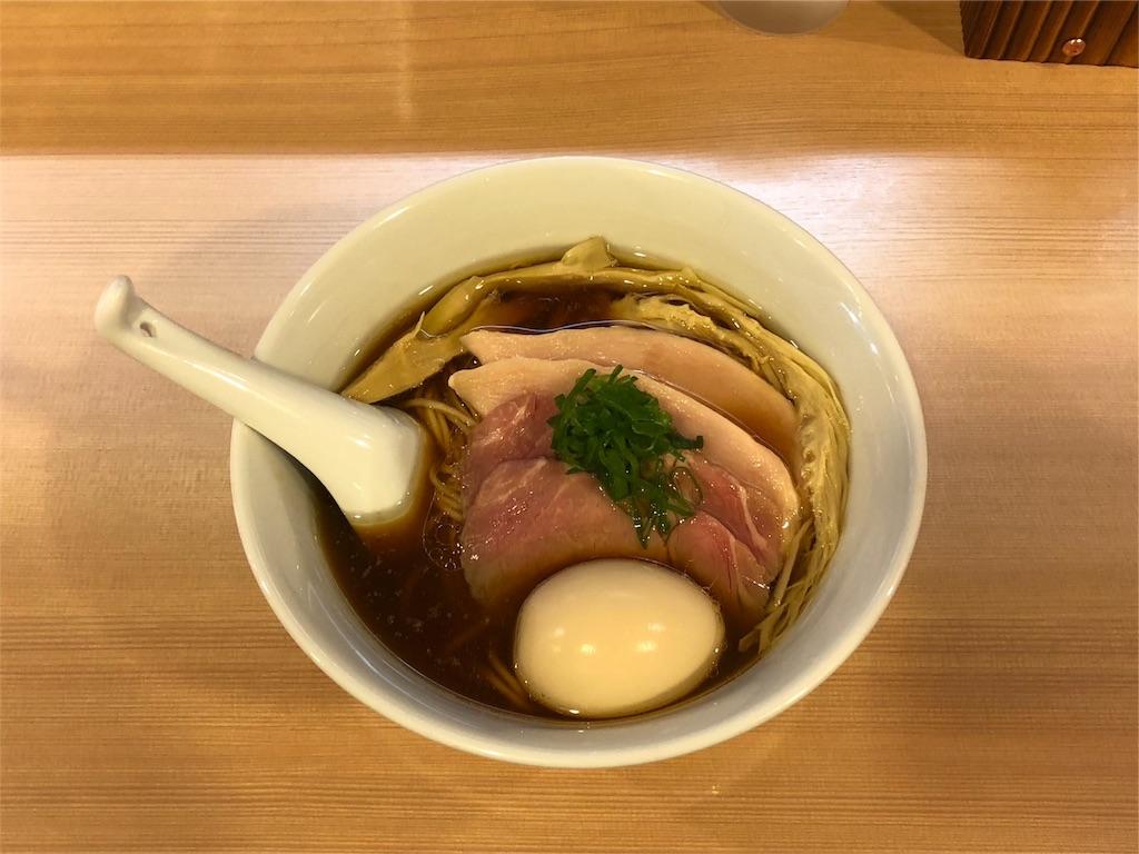 「らぁ麺 はやし田」の醤油ラーメン
