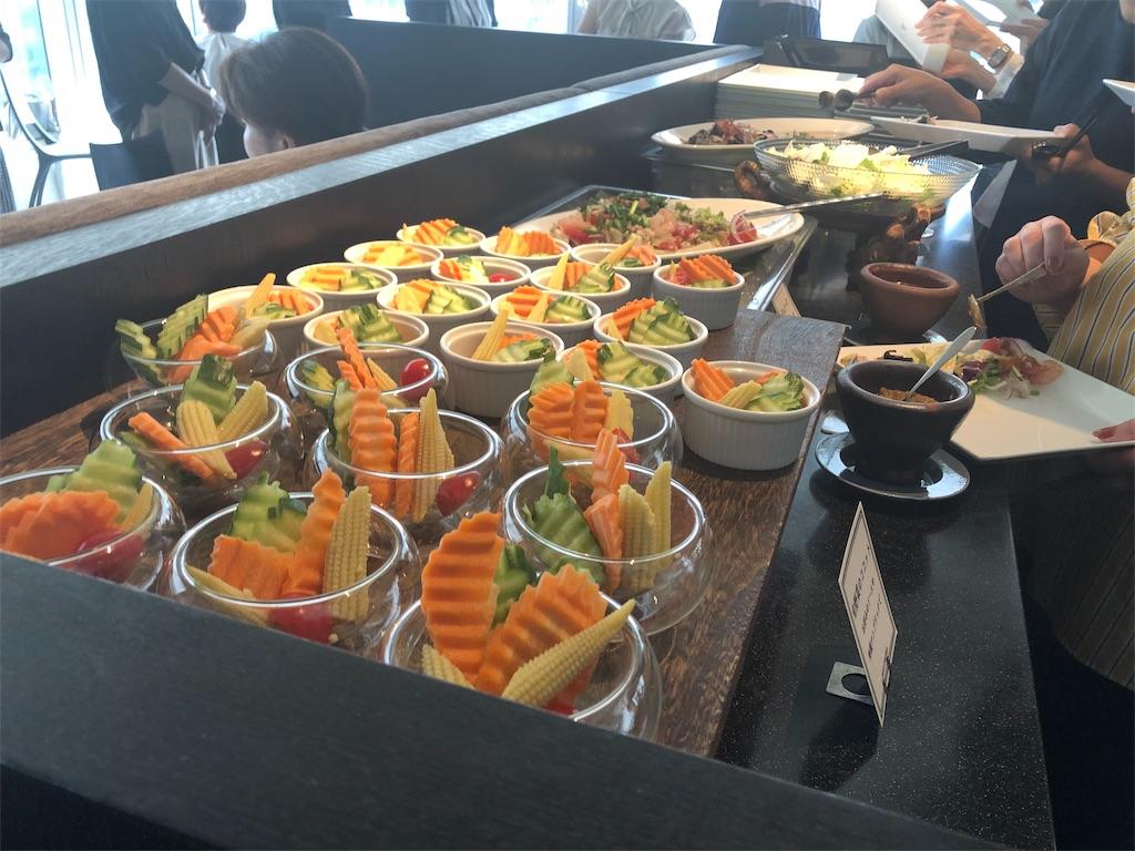 マンゴーツリー東京 タイ料理サラダ
