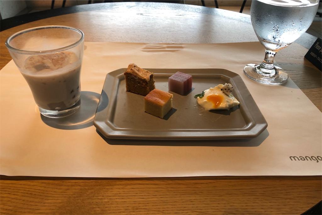 マンゴーツリー東京 タイ料理デザート