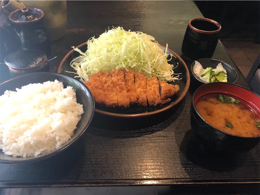新宿 とん竹 とんかつランチ