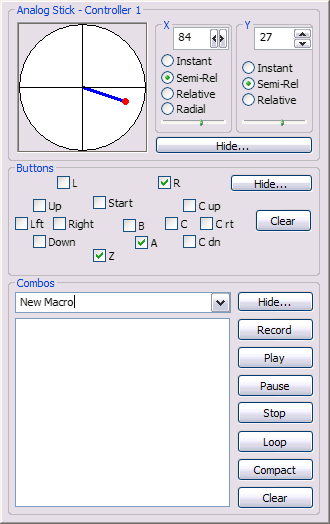 N64 TAS Input Plugin Screenshot