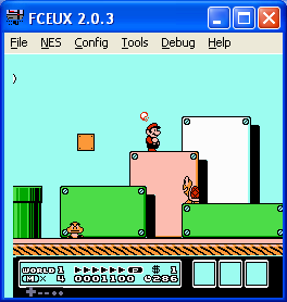 FCEUX screenshot