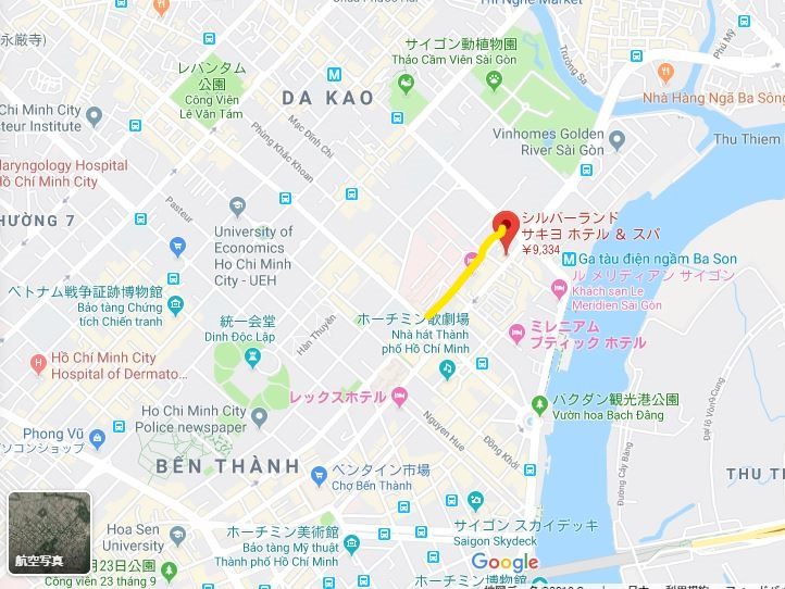 ホーチミン 日本人街