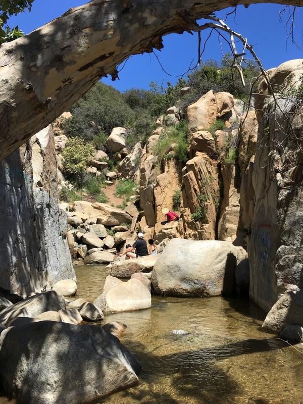 カリフォルニア 自然 オルテガフォール Ortega Fall