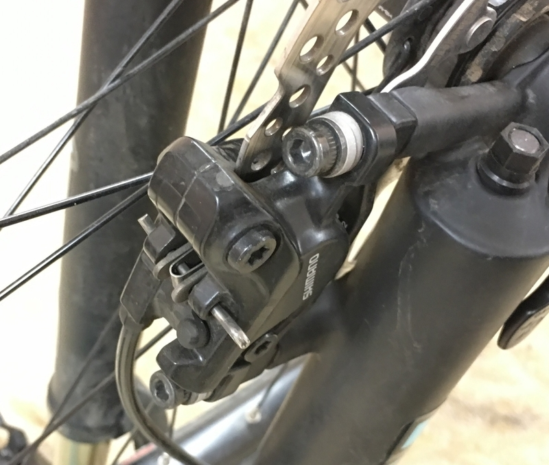 マウンテンバイク ブレーキ 油圧