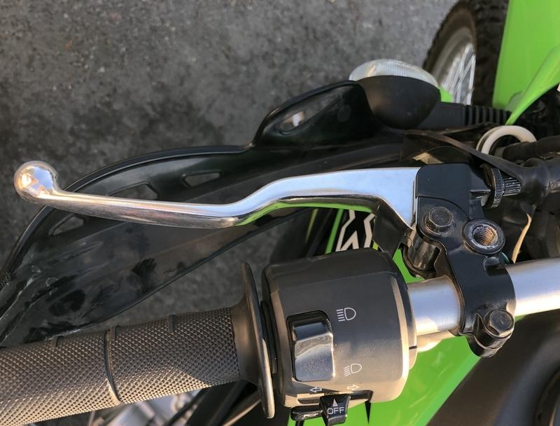 カワサキ klx250 バイク クラッチ