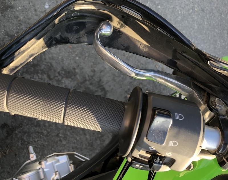 klx250 バイク クラッチ