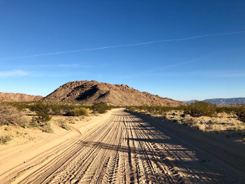 カリフォルニア 砂漠 オフロード モトクロス ジョシュアツリー
