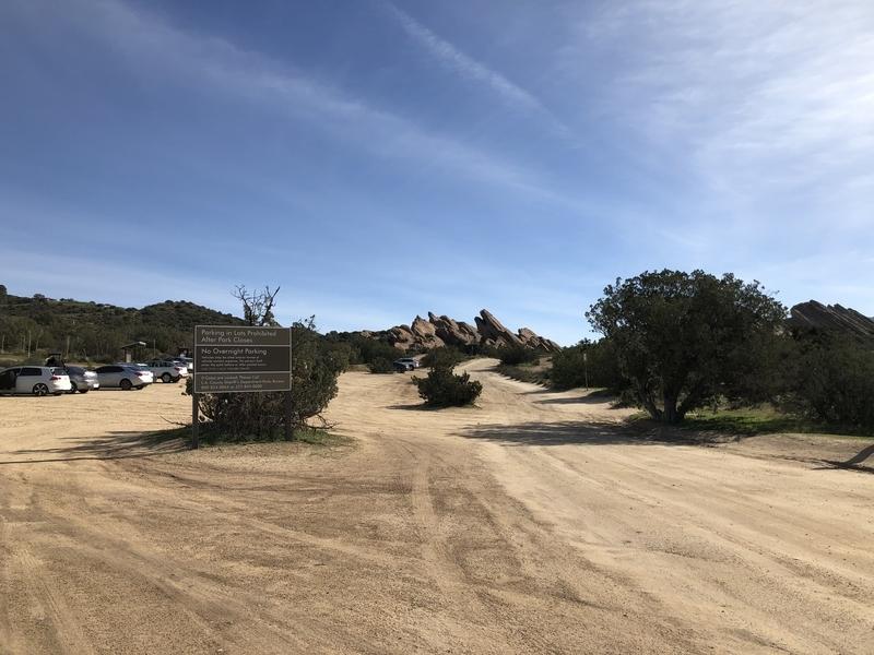 カリフォルニア ヴァスケスロックス スタートレック 入口