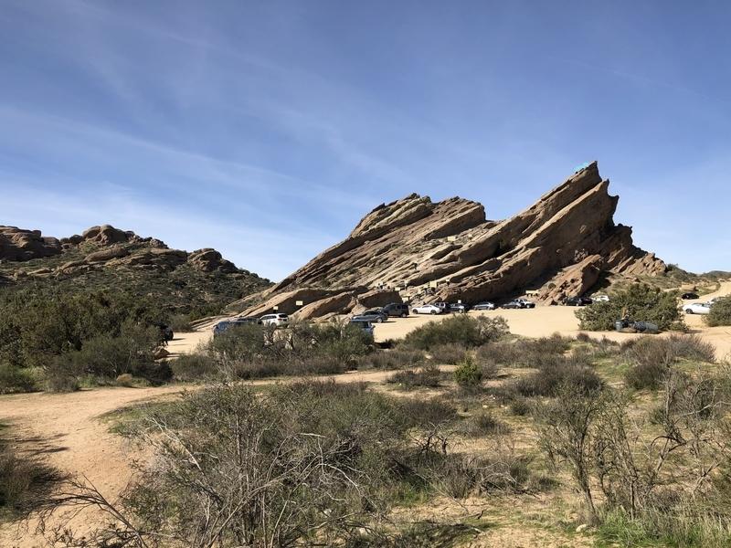 カリフォルニア ヴァスケスロックス スタートレック トレイル