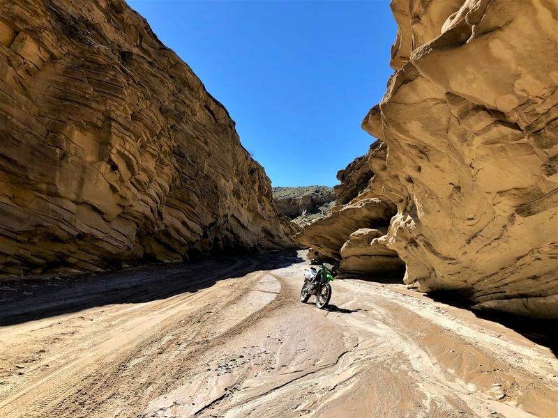 アンザボレゴ フィッシュクリーク オフロード バイク ダート