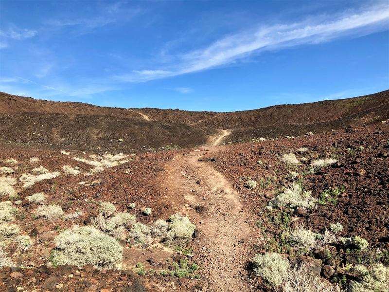 モハーベ アンボイ クレーター 火山 火星探査機 ルート66 カリフォルニア
