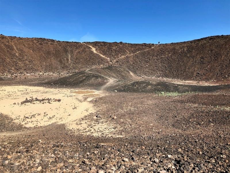 モハーベ アンボイ クレーター 火山 火星探査機 ルート66