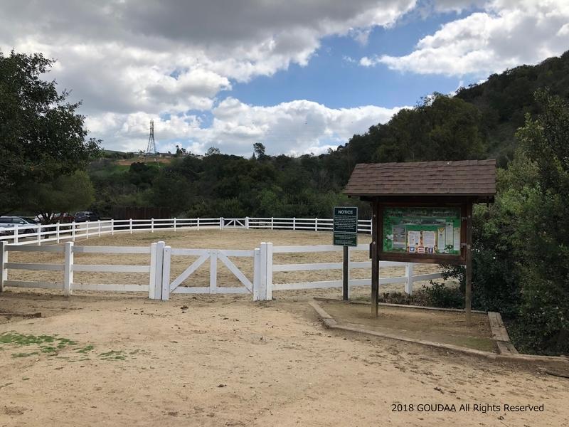 カリフォルニア アウトドア トレッキング ロサンゼルス パウダーキャニオン 馬