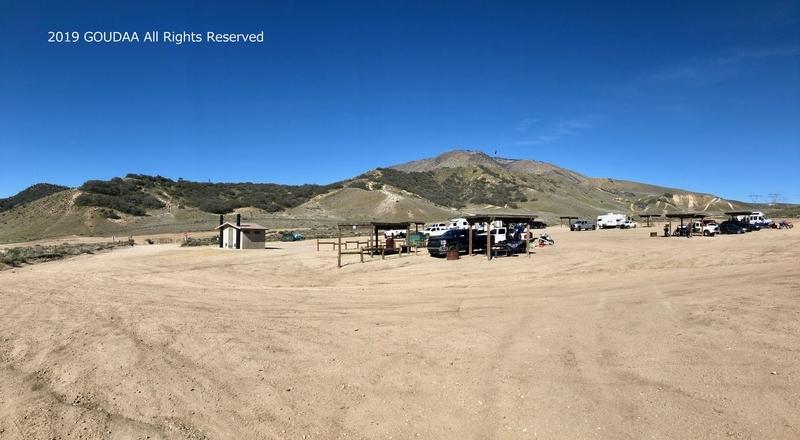 カリフォルニア モトクロス エジソン キャンプ ハングリーバレー アウトドア