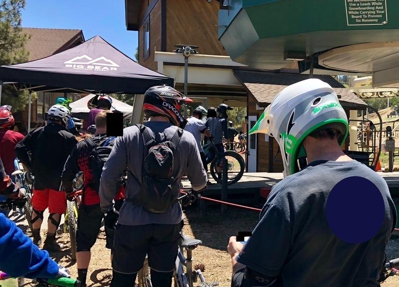 カリフォルニア ビッグベア マウンテンバイク ダウンヒル ヘルメット