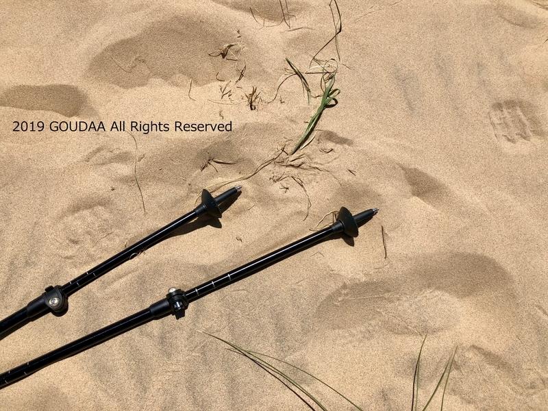 ケルソー デューンズ モハーベ 砂漠 カリフォルニア ハイキング トレッキング アウトドア トレッキングポール