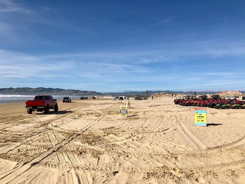 カリフォルニア オセアノ サンドバギー ビーチ オフロード