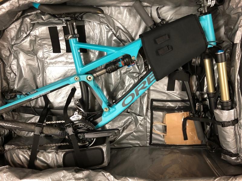 自転車 バッグ マウンテンバイク 輸送 国際線 飛行機
