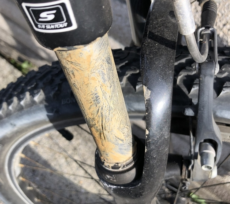 ダイソー サビ取り 100円ショップ 自転車