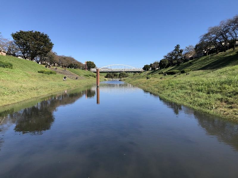 流山 運河水辺公園 サイクリング