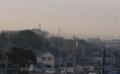 江戸川サイクリングロード右岸海から40キロ地点にて東京スカイツリー