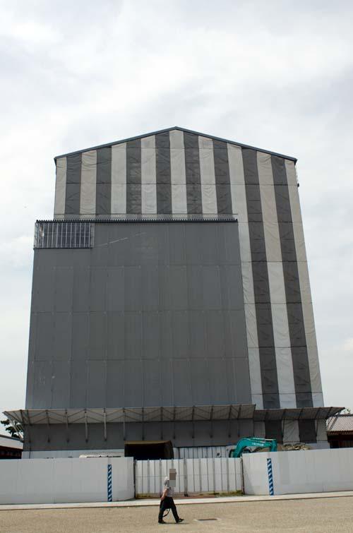 薬師寺東塔覆屋