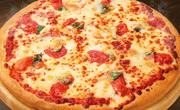 ピザハットのフレッシュモッツァレラのマルゲリータ