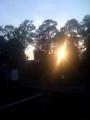 四ツ谷駅。きれいな夕方