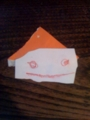 娘か息子が作ったらしきナゾの物体。かわいい。