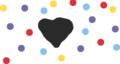 A Black Heart,Just A Random Doodle..