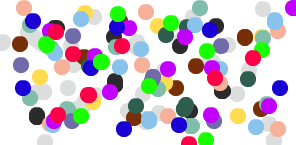 Polka Dots! Wow,It's So Colorful! <3
