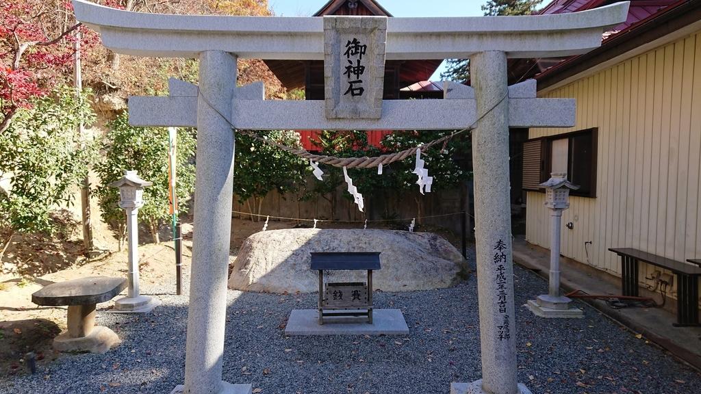 高屋敷稲荷神社 御神石