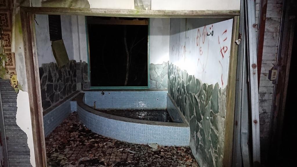 翁島ペンション 風呂