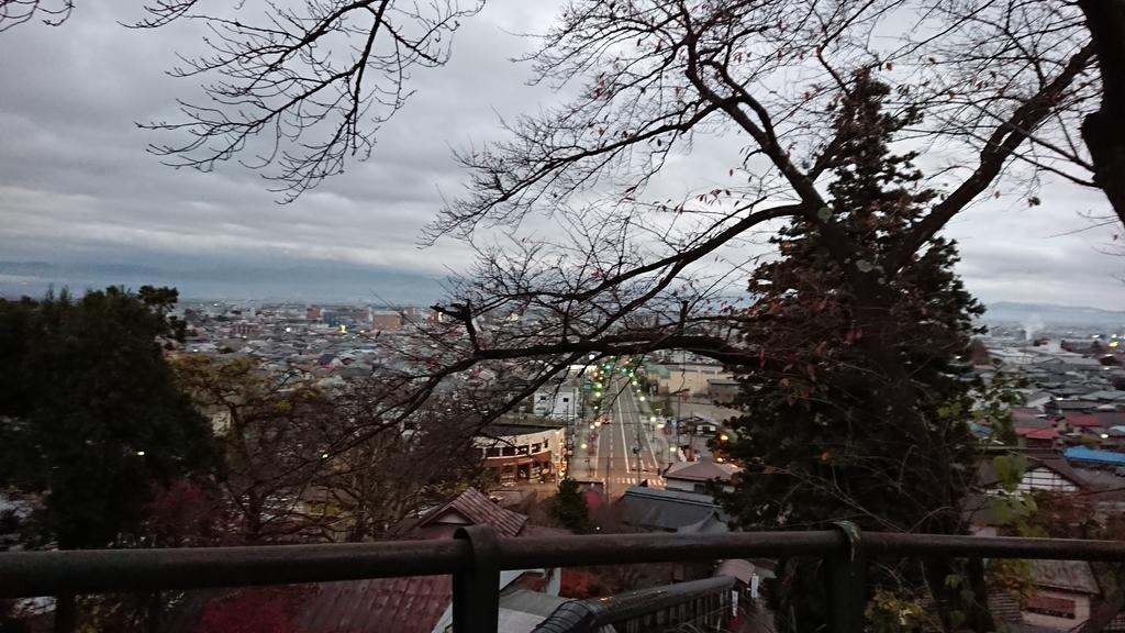 飯盛山 景色