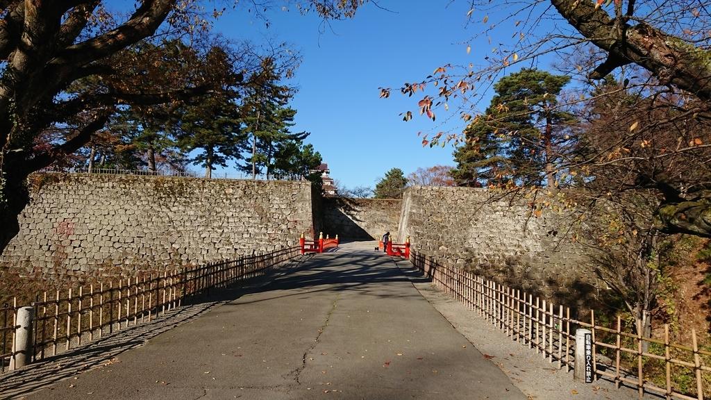鶴ヶ城 堀