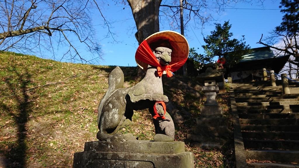 鶴ヶ城 狛犬
