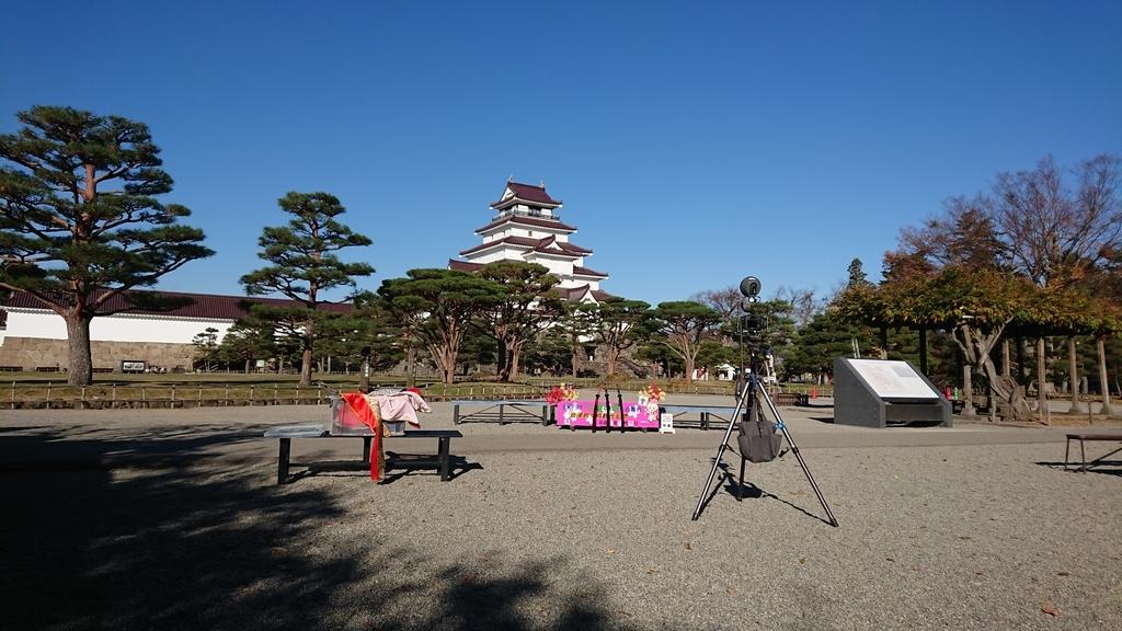 鶴ヶ城 コスプレ撮影