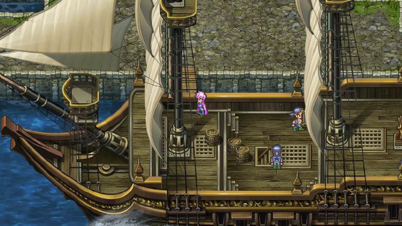 ロマサガ3 船