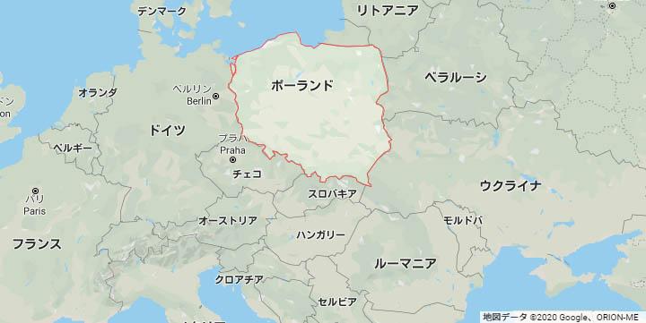 ポーランド 地図