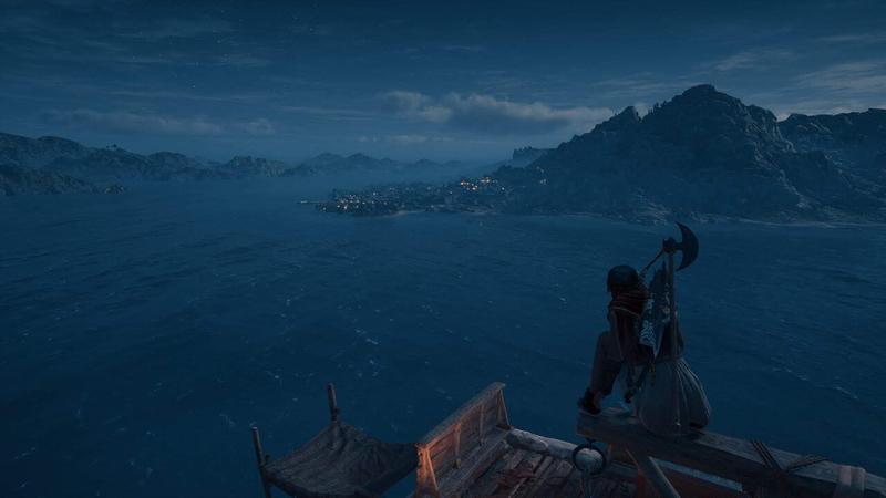 アサシンクリード オデッセイ 夜明けの海