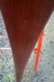 刷毛塗り前のティラー(舵棒)