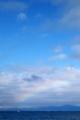 小網代沖に虹。