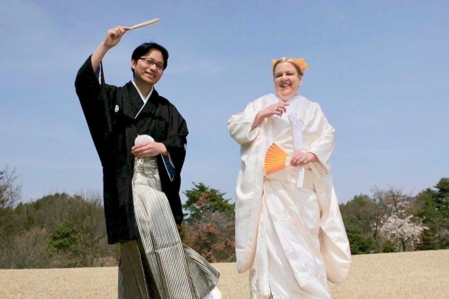 上川一秋&ジーナ・ジョージ夫妻の画像