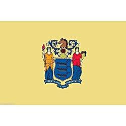ニュージャージー旗画像