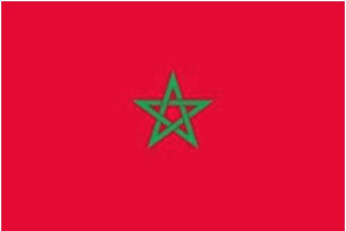 モロッコ旗画像