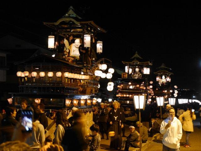 城端曳山祭(ユネスコ無形文化遺産・重要無形民俗文化財)