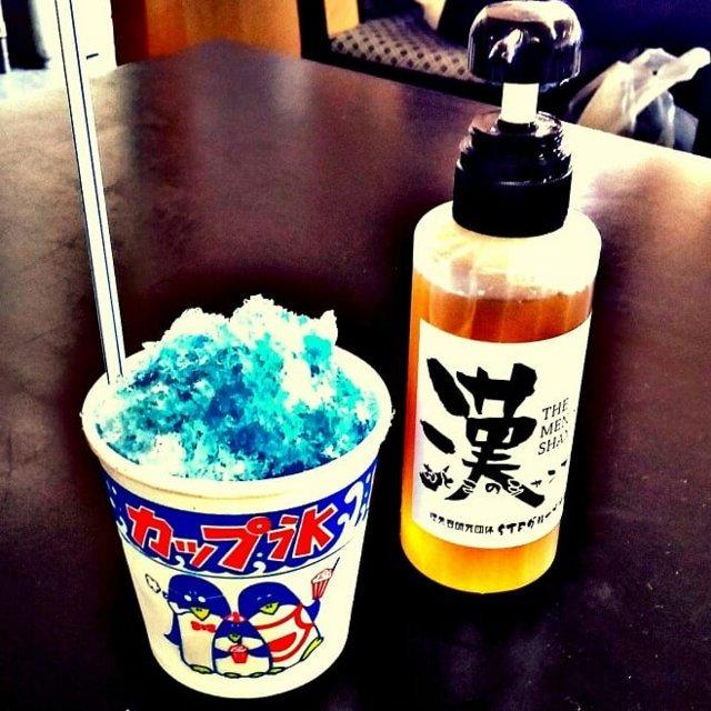 かき氷&漢のシャンプー