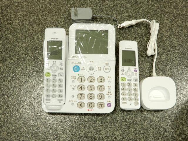 シャープ留守番電話機 JD-AT85CL
